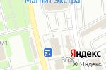 Схема проезда до компании Детки в Новомосковске