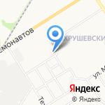 Тульский областной кожно-венерологический диспансер на карте Новомосковска