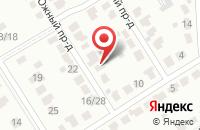 Схема проезда до компании Эталон в Новомосковске