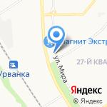 Мистер X на карте Новомосковска