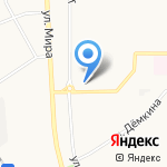 Карамель на карте Новомосковска
