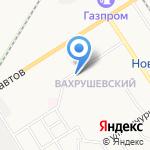 Киоск фастфудной продукции на карте Новомосковска