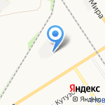НовомосковскГазДеталь на карте Новомосковска