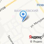 Вега на карте Новомосковска