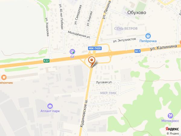 Остановка Шоссе Москва - Н.Новгород (Московская область)
