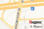 Схема проезда до компании Продуктовый магазин в Обухово
