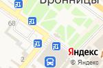 Схема проезда до компании Часовня Николая Чудотровца в Бронницах
