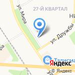 Мир здоровья на карте Новомосковска