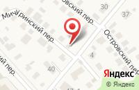 Схема проезда до компании ABSURD в Новороссийске