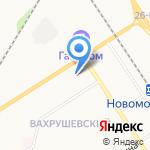 Санги Стиль на карте Новомосковска