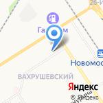 Магазин товаров для дома на карте Новомосковска