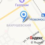 Детский сад №51 комбинированного вида на карте Новомосковска