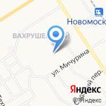 Средняя общеобразовательная школа №8 на карте Новомосковска