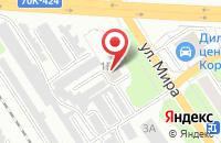 Схема проезда до компании Волонтер в Новомосковске