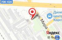 Схема проезда до компании Престиж Авто в Новомосковске