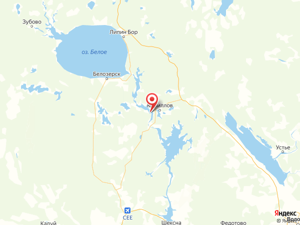 поселок Мыс на карте