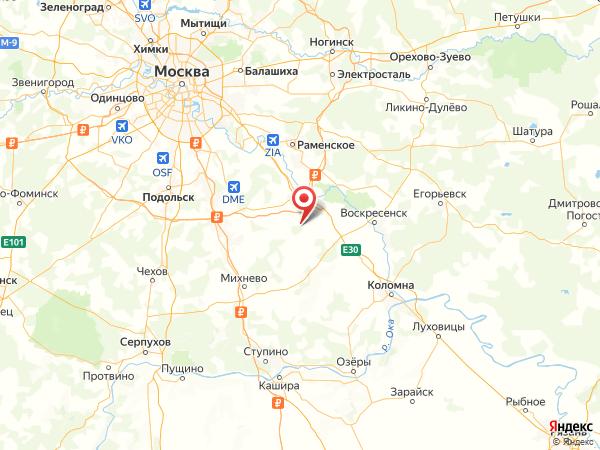 садовое товарищество Красная Поляна на карте