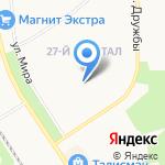 Детский сад №55 общеразвивающего вида на карте Новомосковска
