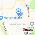 Детский сад №25 общеразвивающего вида на карте Новомосковска