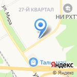 Beerлога на карте Новомосковска