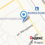 Линда на карте Новомосковска