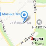 Детский сад №11 общеразвивающего вида на карте Новомосковска