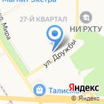 Медицина на карте Новомосковска