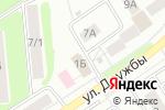 Схема проезда до компании Paradise в Новомосковске