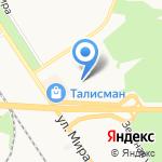 Новомосковский строительный колледж на карте Новомосковска