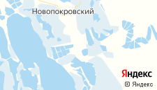 Отели города Новонекрасовский на карте