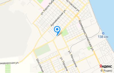 Местоположение на карте пункта техосмотра по адресу Краснодарский край, г Ейск, ул Б.Хмельницкого, д 137