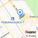 Мираж на карте Новомосковска