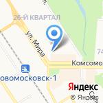 Интим на карте Новомосковска