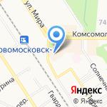 Россия на карте Новомосковска