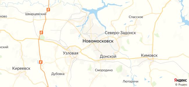 18 маршрутка в Новомосковске