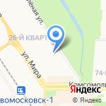 Детский сад №50 на карте Новомосковска