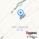 Исправительная колония №6 на карте Новомосковска