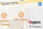 Схема проезда до компании KFC в Бронницах