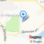 Бархат на карте Новомосковска