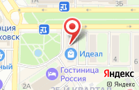 Схема проезда до компании Магазин подарков на Комсомольской в Новомосковске