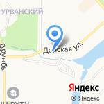 Мойавто на карте Новомосковска