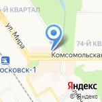 Центрофинанс Групп на карте Новомосковска