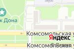 Схема проезда до компании Autodoc.ru в Новомосковске