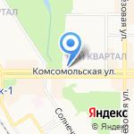 Русский мех на карте Новомосковска