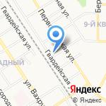 Формика на карте Новомосковска