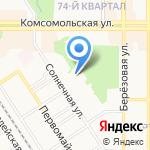 Дом Заботы на карте Новомосковска