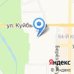 Детский сад №52 комбинированного вида на карте Новомосковска