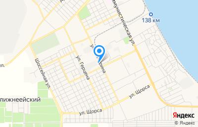 Местоположение на карте пункта техосмотра по адресу Краснодарский край, г Ейск, ул Мичурина, д 22