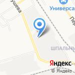 Новомосковский хлебокомбинат на карте Новомосковска