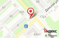Схема проезда до компании STREET FOOD в Новомосковске